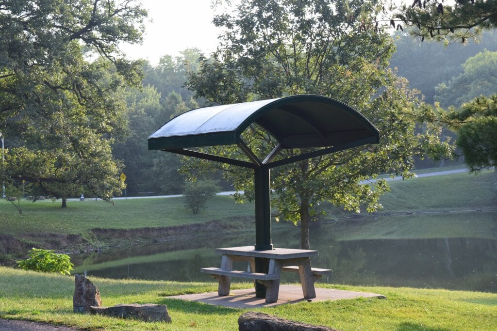 Picnic Table in the Park
